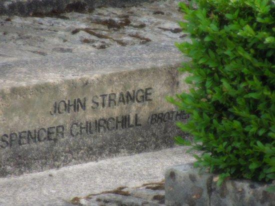 Bladon, UK: Churchill's brother