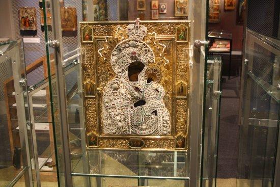 Kuopio, Finland: Риза с иконы Коневской Божьей Матери