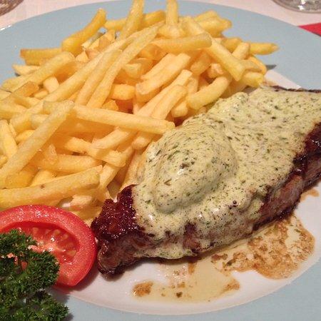 Pully, Schweiz: Entrecôte de boeuf