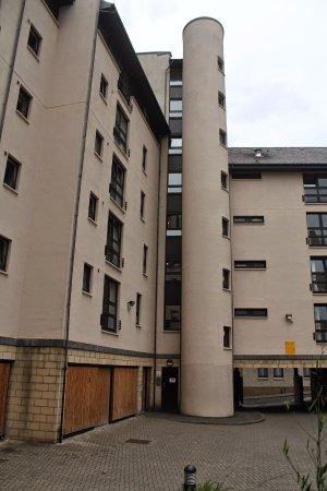Euro Hostel Edinburgh Halls: внутренний двор