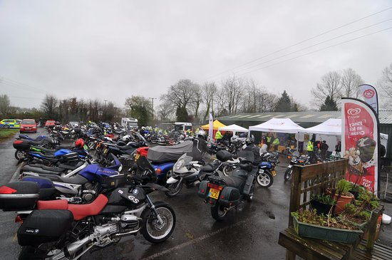 Llandovery, UK: Motorcycle Engagement day Easter 2017