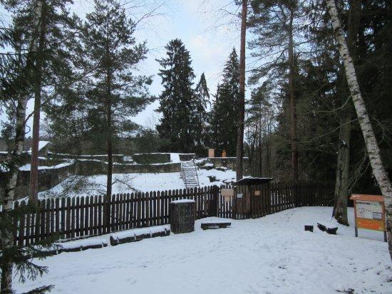 Sezimovo Usti, Τσεχική Δημοκρατία: Kozi Hradek Castle in winter