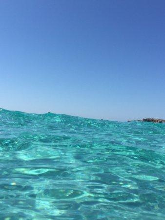 Nissi Beach Resort: Meerwasser