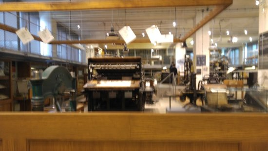 National Technical Museum : Printing machines