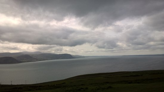 Great Orme: Windy and rain but stiil great view