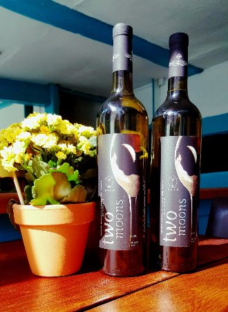 Ellesmere, UK: From our Greek collection of wines. Karamitos Two Moons.