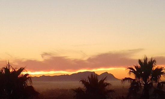 Somerset West, South Africa: False Bay Sunset 04/17