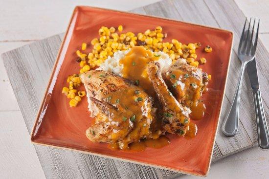Uncasville, CT: Oven Roasted Half Chicken