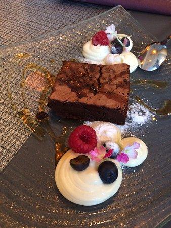 Restaurant Kiisa: Chocolate cake