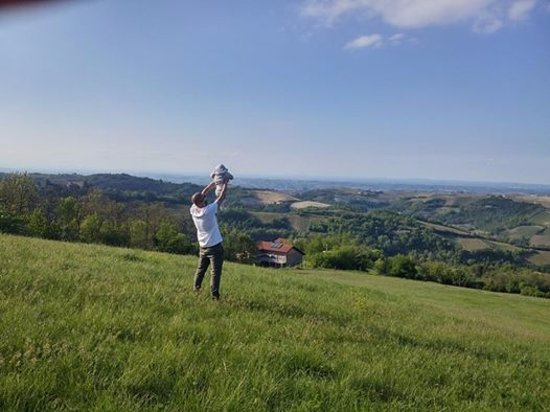 Montabone, Italy: la rupe dei re