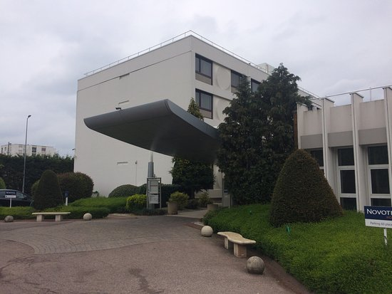 Laxou, Frankreich: L'entrée de l'hôtel