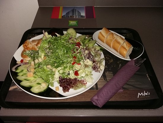 Ibis Styles Stuttgart: Another brilliant dinner. All for 9.50 EUR. Tasty and a great price!