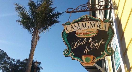 Capitola, CA: Sign