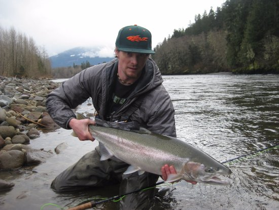 Squamish, Canada: Come join us for your next steelhead trip!