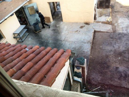 La Posada Hotel: view from room 241