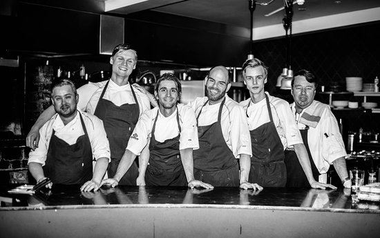 Restaurant Kitchen Staff our kitchen staff - picture of apotek restaurant, reykjavik