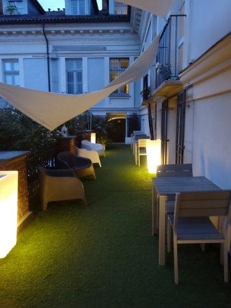 Terres d'Aventure Suites: terrasse