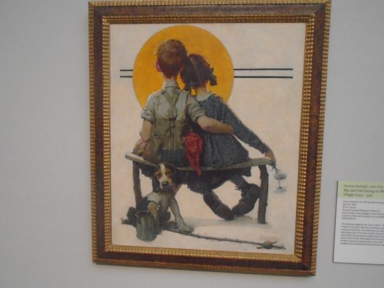 Norman Rockwell Museum: Another popular painting.