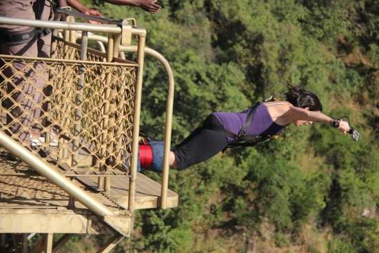 Shearwater Victoria Falls - Bungee, Bridge Tours and Activities: it's go time!!!!