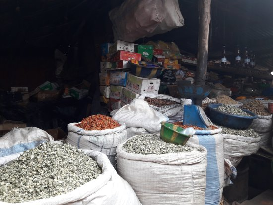 Bamako: vegetable market at the south bank : 20170412_104919_large.jpg