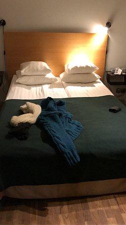 Rex Hotel: cama