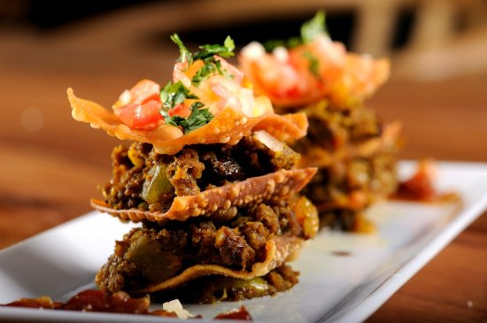 Ladismith, Южная Африка: Bobotie stack with tomato salsa