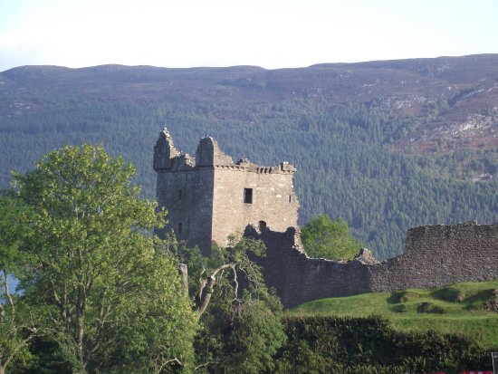 Urquhart Castle: View from the land