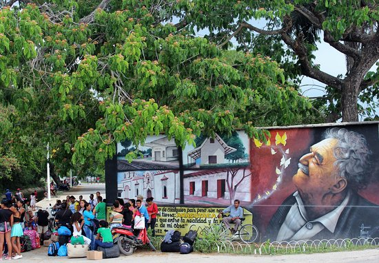 Aracataca, كولومبيا: l'arrivo ad Aracataca