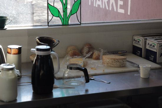 Caineville, UT: Mesa Farm Market - cheeses and coffee