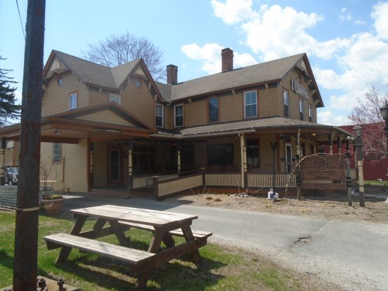 Lee, MA: View of the Tavern from the outside.