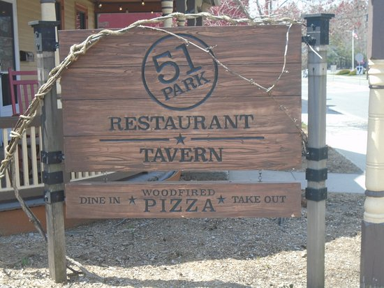Lee, MA: Tavern sign.