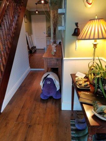 Hillside Lodge: Downstairs hallway