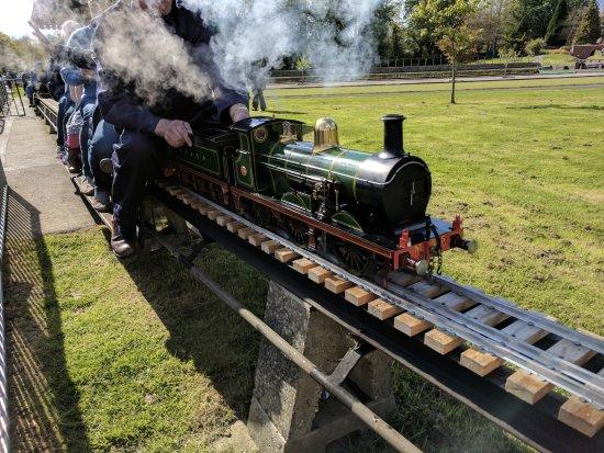 Haywards Heath, UK: Steamer
