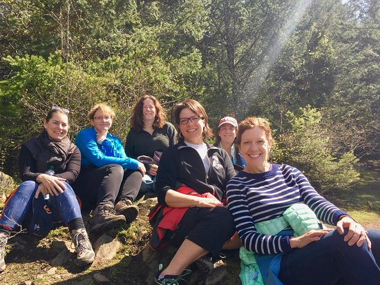 Lummi Island, WA: Our fun group!