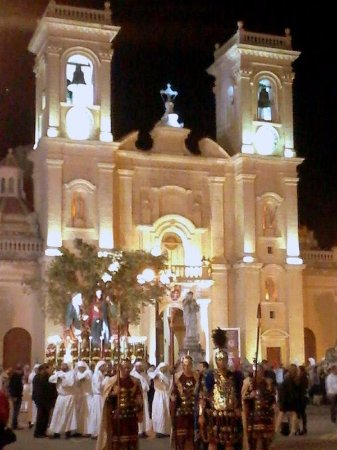 Picture from Good Friday Procession in Haz-Zebbug, Malta