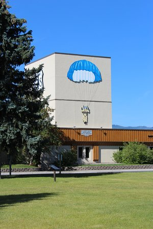 Aerial Fire Depot and Smokejumper Center : Smokejumper Museum - exterior view