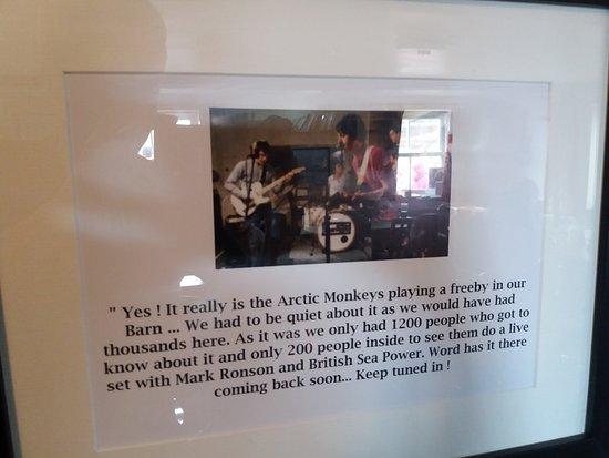 Tan Hill Inn: Arctic Monkeys