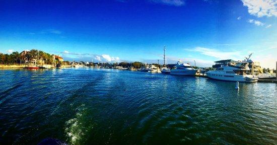 Isle of Palms, Carolina del Sur: Leavin the marina