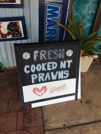 Darwin Fish Market : Front