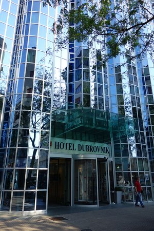 Hotel Dubrovnik: Fachada do hotel