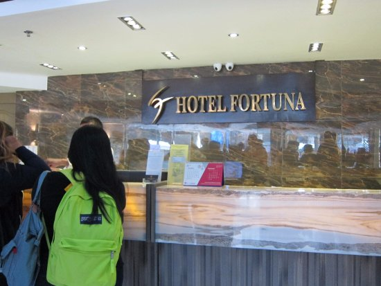 Hotel Fortuna: clean and modern hotel