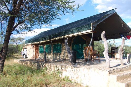 Ганзи, Ботсвана: Tent #1