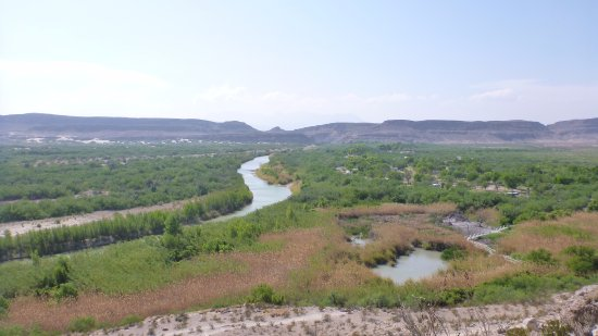 Rio Grande Village Nature Trail: view from overlook