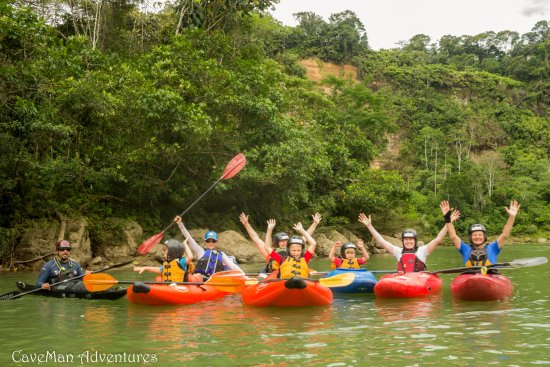 Tena, Ecuador: Anzu River, 4 days Kayak School, BEAUTIFUL LANDSCAPES AND TROPICAL WARM WATER..