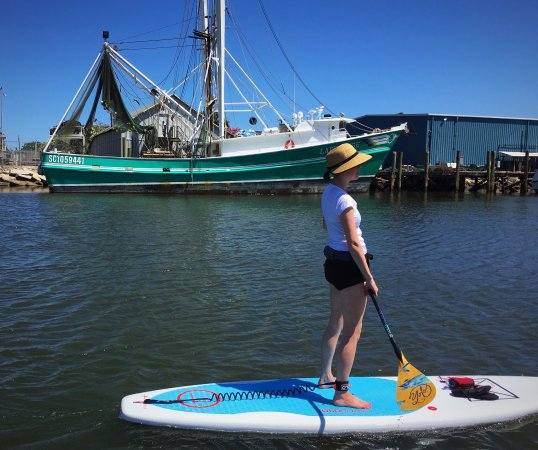 Fernandina Beach, FL: Downtown paddle boarding tour - one of the best places to SUP in Florida