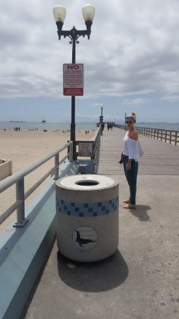Seal Beach, CA: пирс