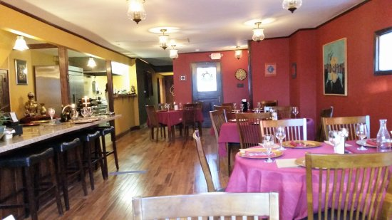 Schenectady, NY: Attractive dining room.