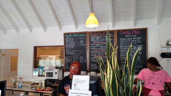 South Hill, Anguilla: Friendly service