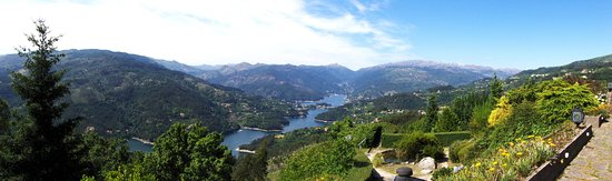 Canicada, Portugal: the panorama at daytime