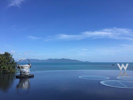 W Retreat Koh Samui: Awesome views!